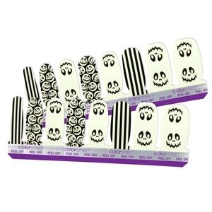 """""""Boo Crew"""" Glow In The Dark Color Street Nails"""